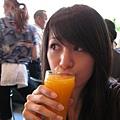 酸溜溜的柳橙汁