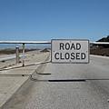 好帥氣的道路封閉