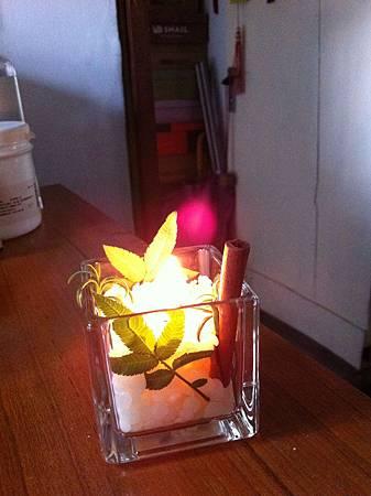 燃燒中的蠟燭