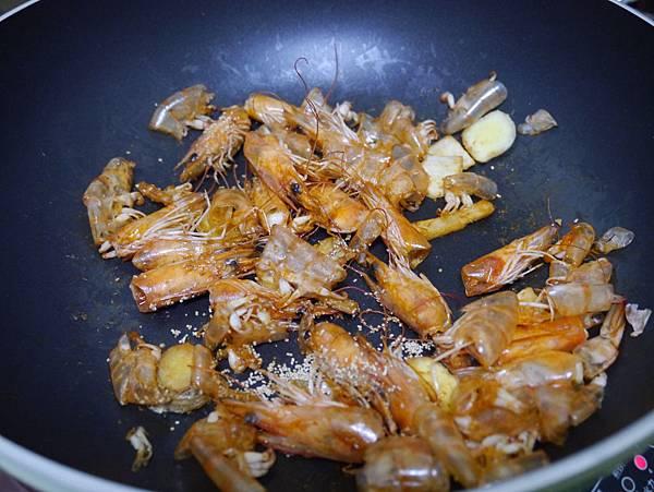 鮮蝦冬粉煲
