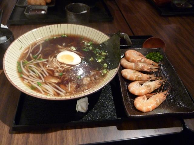 拉麵吧_醬油鮮蝦