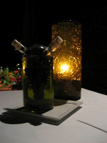 晚餐在四季飯店的義大利餐廳吃