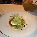 不管到哪裡的義大利餐廳,我都喜歡點這道蕃茄+起士