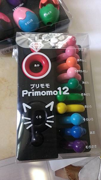 日本primomo無毒蠟筆