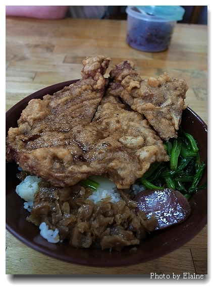 黑肉麵排骨飯