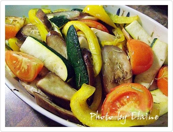 夏日烤蔬菜