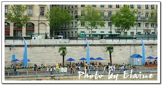 巴黎的人造海灘