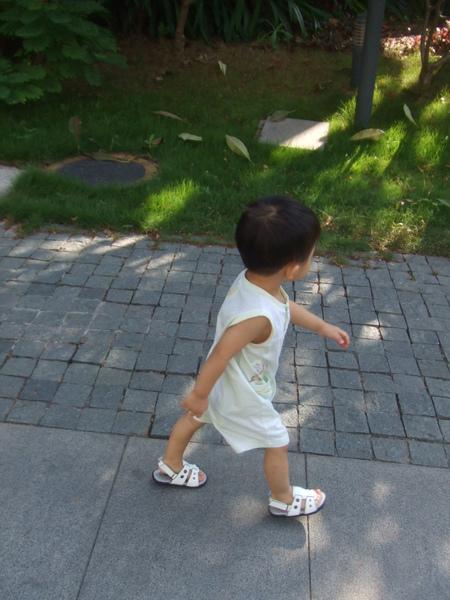 走走走! 天氣很好唷!