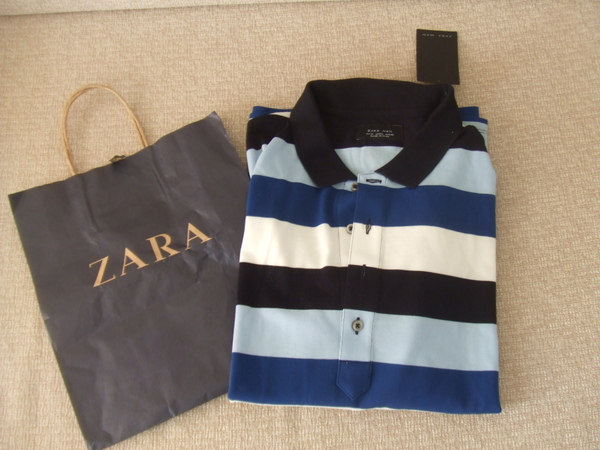 ZARA戰利品, 老公的polo衫!