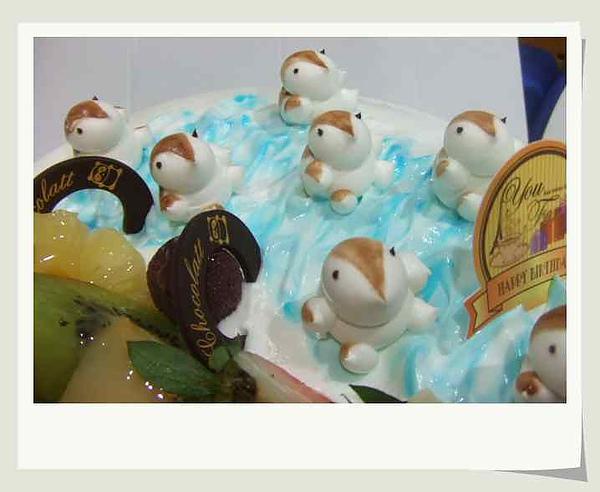 2Y birthday cake~小企鵝!