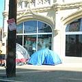 Denver市區的遊民