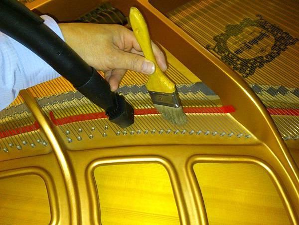 平台琴的響板清理 (2)