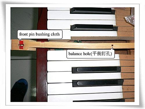 鋼琴雜音 - 鍵盤的雜音