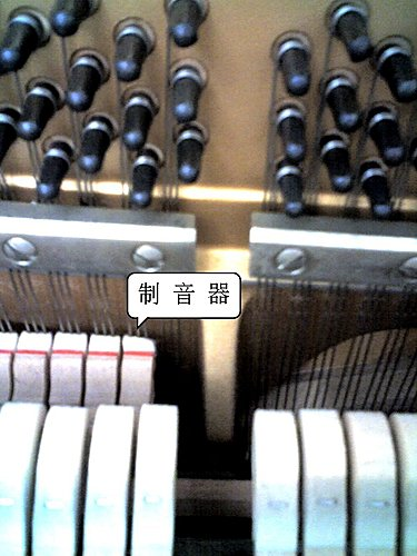 我的鋼琴,高音部音不會停