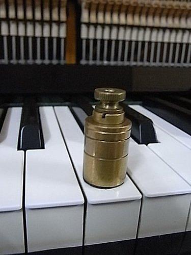鍵盤的重量測量