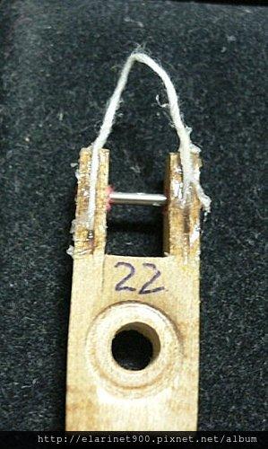 9整理過的 便宜中古琴-2 -butt flange cord