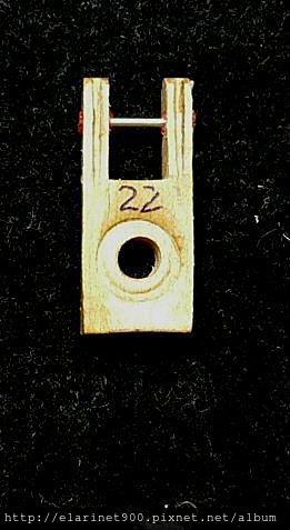 12整理過的 便宜中古琴-2 -butt flange cord
