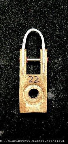 13整理過的 便宜中古琴-2 -butt flange cord