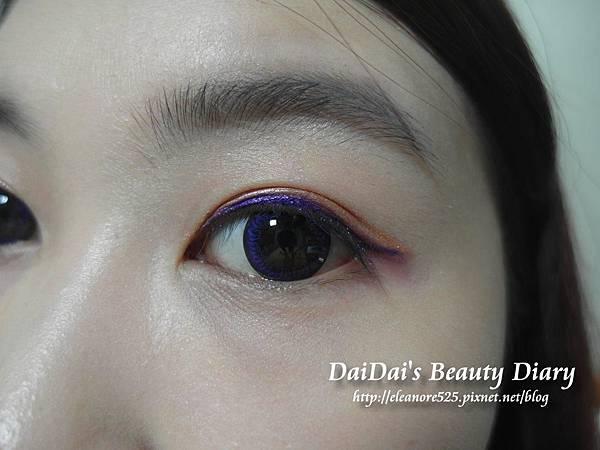 海昌 星眸彩色月拋 孔雀紫