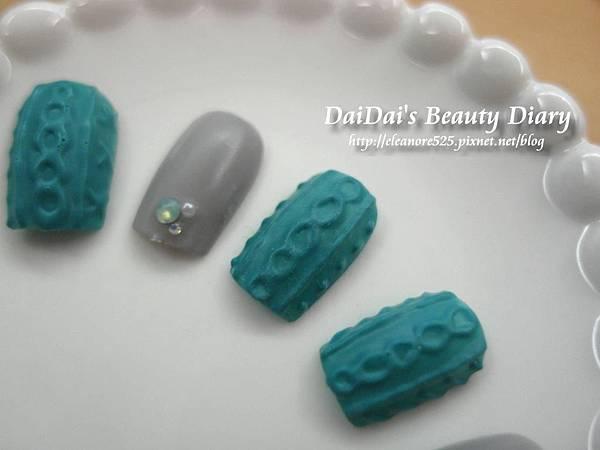 毛衣紋指彩 光療教學