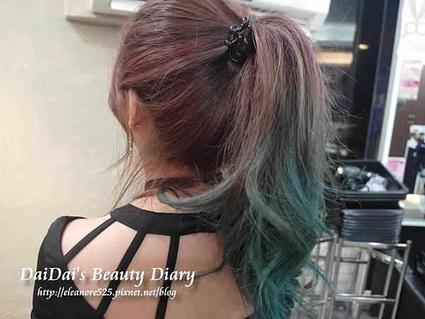 永和樂華 Dream Hair Nico 紫紅漸層染髮