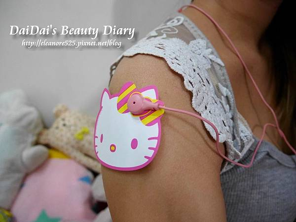 船井生醫 倍熱 Hello Kitty 活力動感機 強力動感腰腹帶