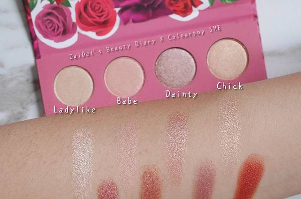 Colourpop shadow palette SHE