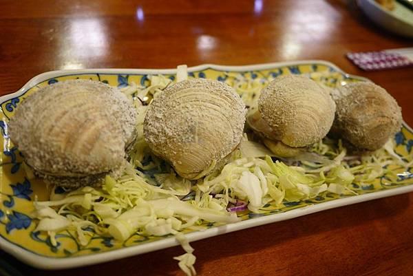 小六食堂-輕燒生干貝
