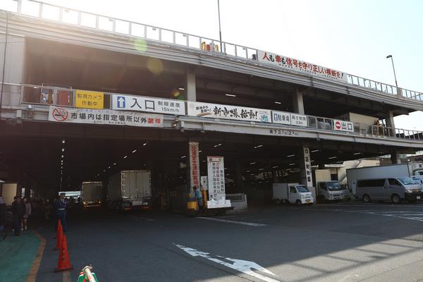 日本最大魚市場,築地市場