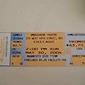 5/30 第一個show -- chicago