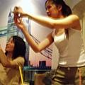 9/11姊妹與比熊犬miumiu -- miumiu也是鎂光燈聚焦點