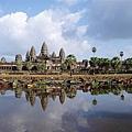 10/26 Angkor wart 小吳哥 水中倒影