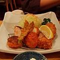 5/28  晚餐  京都車站地下街一家有人在排隊的豬排店