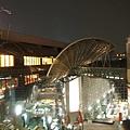 5/28  京都車站上看下去的夜景