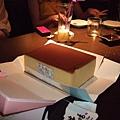 小棻夾藏在包包裡的蛋糕