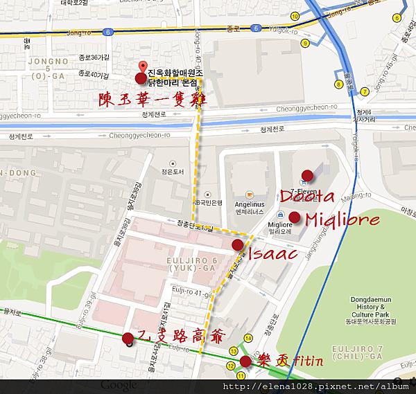 東大門地圖