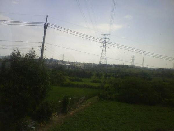 中秋-火車上