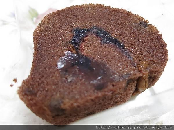 巧克力藍莓捲心糕