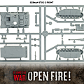 德軍突擊砲III零件圖