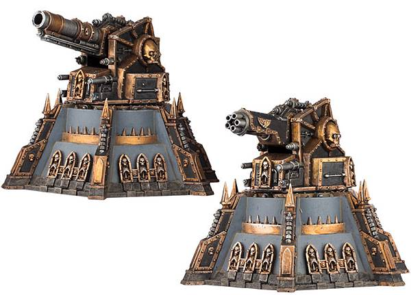 忠烈鐵壁:復仇級砲台