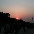 北新莊夕陽