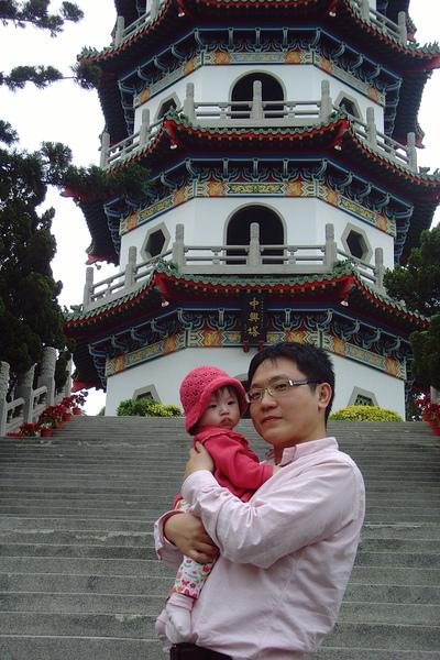 990214-Amber與爸比-澄清湖中興塔-1.jpg
