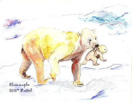 mom&baby04_polar bear