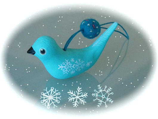 愛上DIY:聖誕節小鳥飾品製作