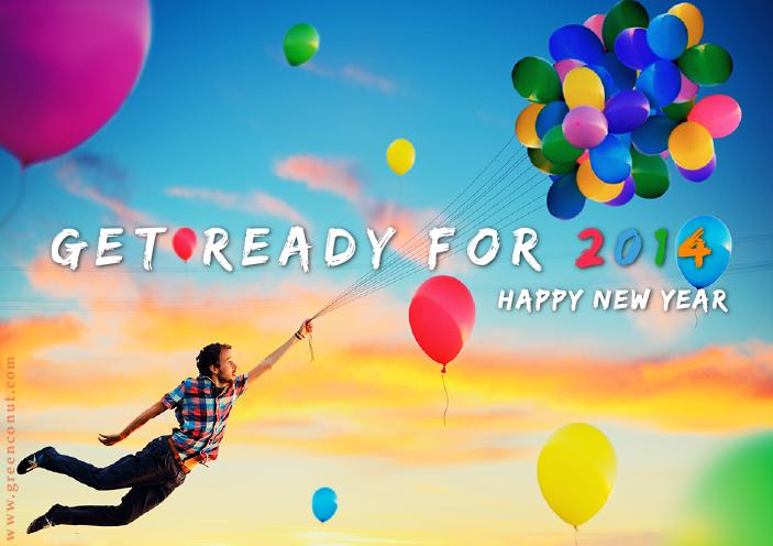 告別2013,迎接全新2014!
