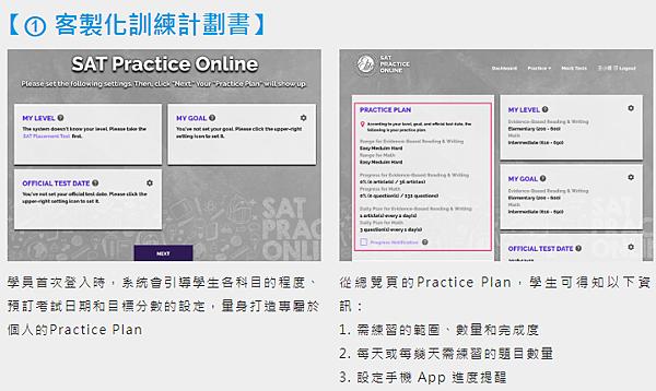 SAT個人訓練計劃書 -菁英sat補習班