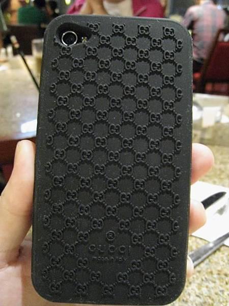 iPhone4專屬GUCCI保護套