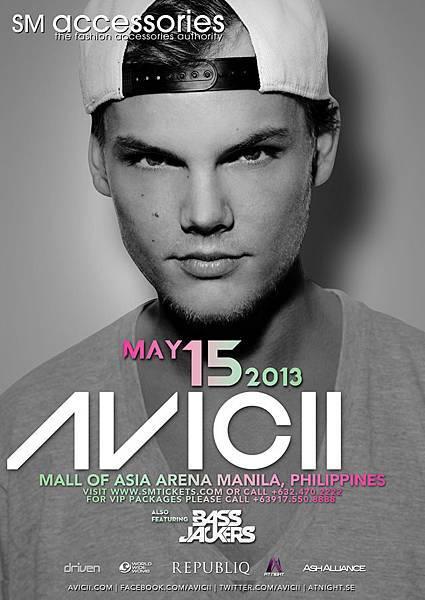 AVICII_2013_sm poster