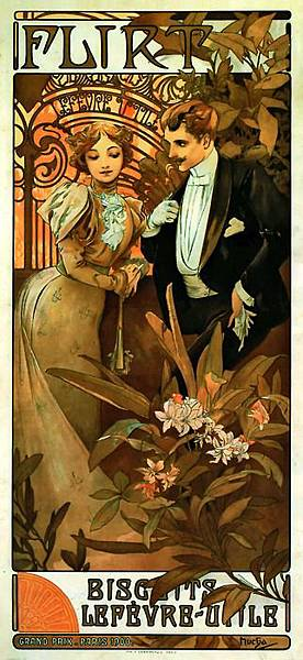 Alfons Mucha, flirt.jpg