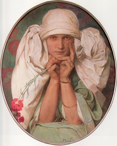 Alfons Mucha, Jaroslava, 1920, 73 x 60 cm.jpg